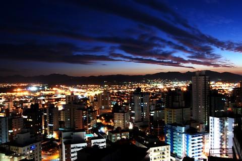 Night sky exposure example