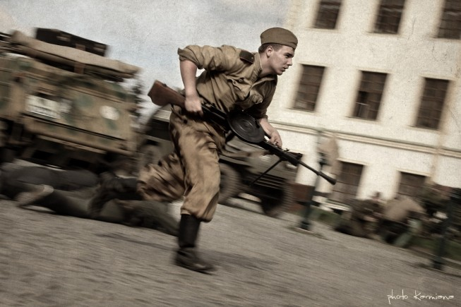 In this photo too, panning was used to good effect. Photo: Miroslava Brázdová. Canon Mark II 5D, Canon 70–200 mm F2.8, 1/50 s, F9, ISO 125, focus 80 mm.