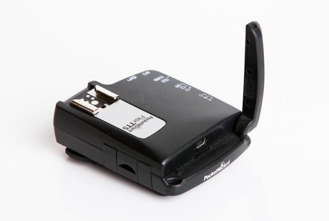 The PocketWizard FlexTT5 TTL radio flash trigger. Photo: Vít Kovalčík