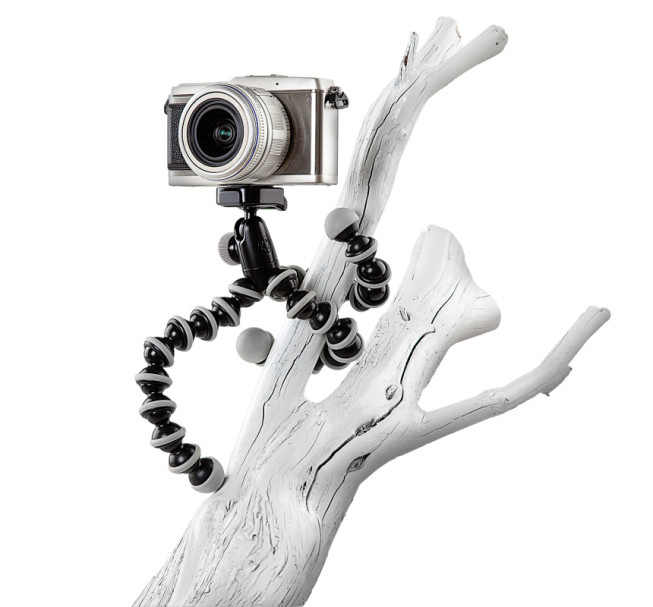A GorillaPod can be set up basically anywhere. Source: Gorillapod.cz.